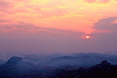 Sunrise at Hampi photo by pankaj.anand