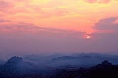 Sunrise at Hampi photo by pankaj.anand