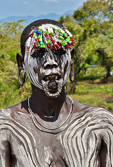Mursi Woman Without A Lip Plate photo by Rosita So Image