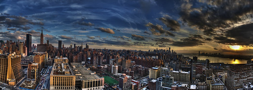 Sunset Ohm Building NYC photo by www.WeisserPhotography.com