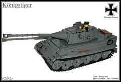 Lego ww2 -Königstiger- photo by =DoNe=