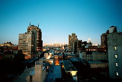 Tribeca Rooftops Looking North, Manhattan (Bessa-L) photo by ravikjolly
