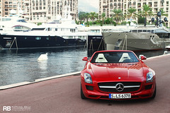 SLS AMG Roadster photo by Raphaël Belly Photography