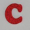 Christmas Sparkle letter C
