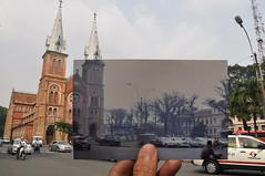 Sài Gòn, năm 1969 & nay photo by Khánh Hmoong
