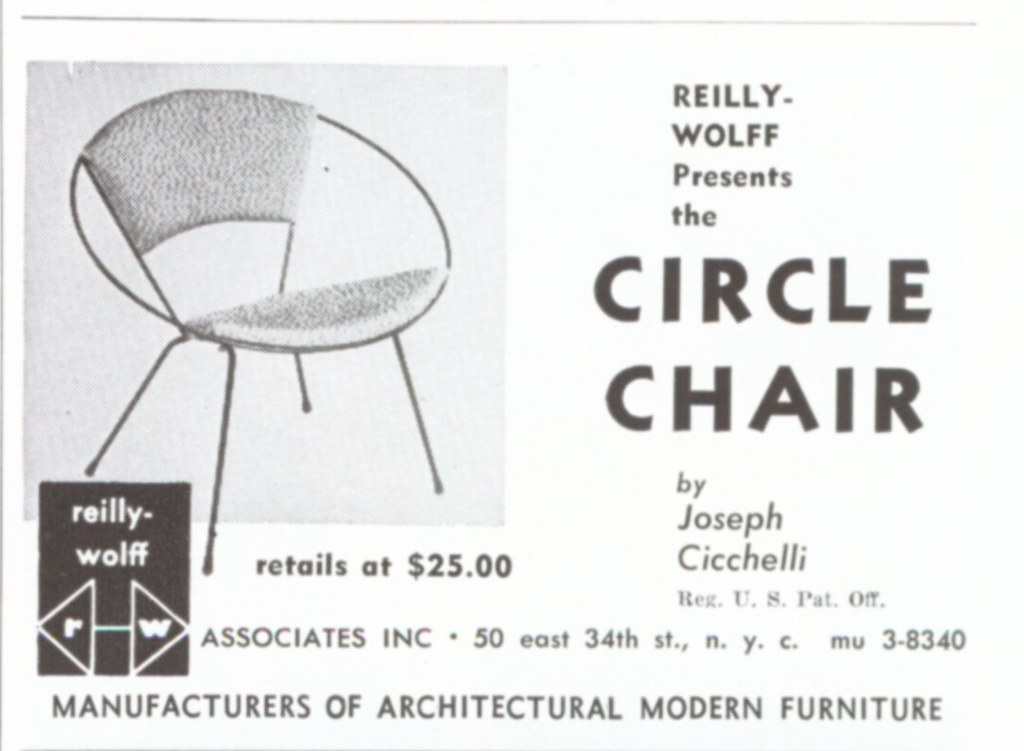 Reilly-Wolff presents the Circle Chair by Joseph Cicchelli photo by Straylight.Wandering