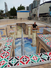 3d-street-art-national-day-UAE-2011 photo by leon keer
