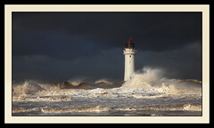 Angry sea at New Brighton. 1 photo by Robstorm Photography