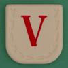Line Word red letter V