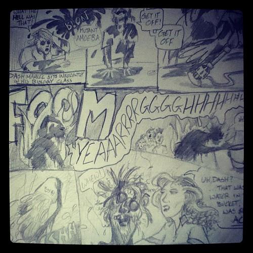 Original Amoeba Man page 1
