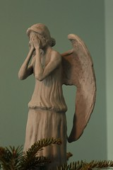 Weeping Angel Christmas Tree Topper photo by Obajoo