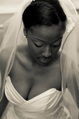 Portraite of a Bride photo by YBowyer Photography