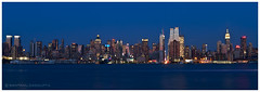 Midtown Manhattan Skyline at dusk photo by santanu.dasgupta