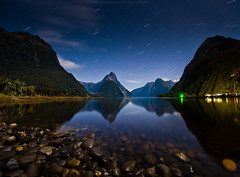 a night at Milford sound photo by CoolbieRe