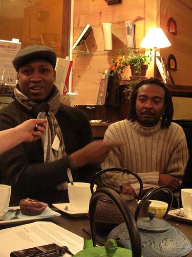 Le jazz et les mots : Rencontre avec Tukki Quartet - 04/02/2012