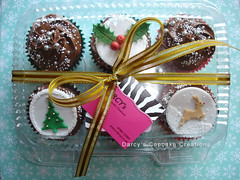 Christmas cupcake pack photo by Darcy's Cupcake Creations