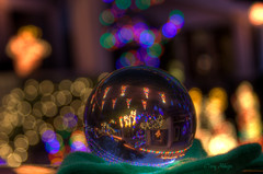 Christmas Lights Through The Looking Glass [Explored!] photo by Terry Aldhizer