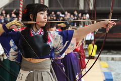 Kyudo ---The Japanese art of archery--- photo by Teruhide Tomori