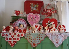 Vintage Valentine's Day Decorations-2012 photo by MissConduct*