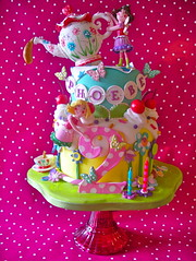Fairy Tea cake for Phoebe's 2nd birthday photo by nice icing
