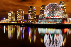Vancouver Science World Night View photo by TOTORORO.RORO