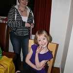 Emma's turn to get her hair done<br/>20 Jan 2012
