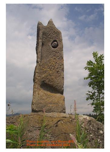 Pierre sculptée vers Besse (63) 1