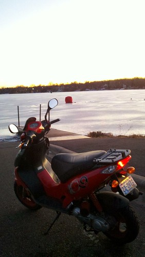 First Two Wheeled Ride of 2012