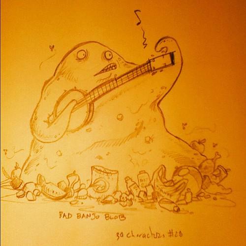 Bad Banjo Blob #30characters #28