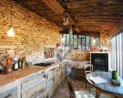 Interieur maison en pierre - Maison bois et pierre ...