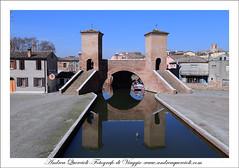 Comacchio,   Tre ponti by andrea quercioli photo by © Andrea Quercioli / www.andreaquercioli.com