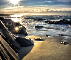 Golden sand photo by Arnfinn Lie, Norway