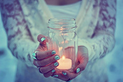 I gave you a wish in a jar photo by AmyJanelle