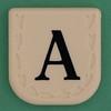 Line Word black letter A