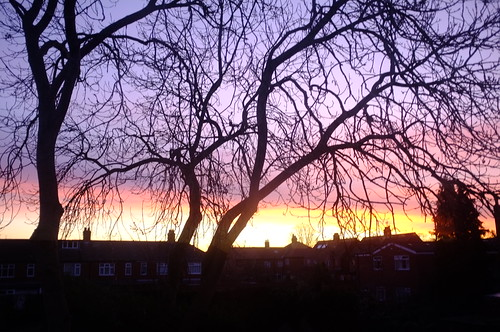 Sunrise over Cottingham