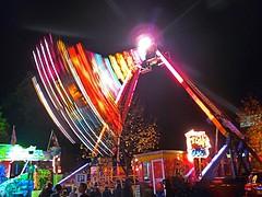 Swing Time  Tavistock Fair Devon photo by Cornishcarolin. Mum not well. So busy!! xxx