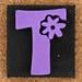 Foam Stamp Letter T
