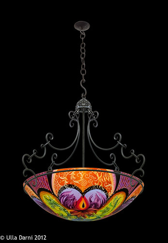 Chandelier s hooks chain ulla darni ibis purple multiple original chandelier with chaing aloadofball Choice Image