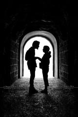 the romantic tunnel by D.F.N. Noir & Blanc black & white photo by '^_^ D.F.N. Damail ^_^'