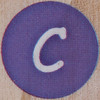Rubber Stamp Letter C