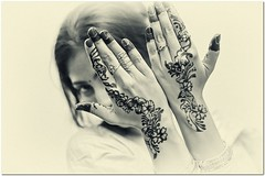 mehendi on hand l wedding photo by mann_D5000