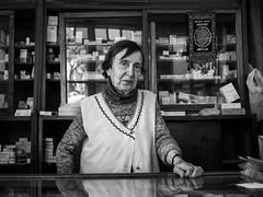 92 year-old pharmacist, Balat - Istanbul photo by adde adesokan