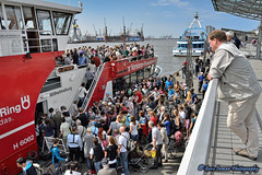 St. Pauli - Landungsbrücken near Harbor, Hamburg, Germany - Nikon D800 Testing photo by GeneInman.com