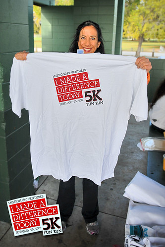 I Made A Difference Today 5K 2012