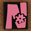 Foam Stamp Letter N