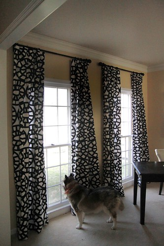 how to fake pinch pleat curtains