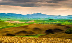 Tuscan landscape - mount Amiata in Val D'Orcia (explored) photo by Aljaž Vidmar | ADesign Studio