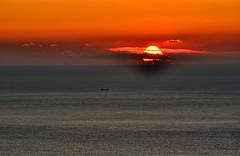Orange sky photo by ►▲▲ / Cyril