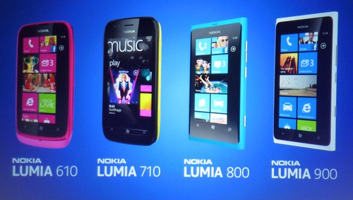 Nokia Lumia line-up