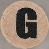 studio g Stamp Set Block Letter G